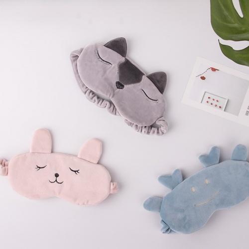 洁妮肤 宝宝绒卡通三件套(U型枕,眼罩,发带)